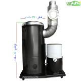 بخاری نفتی- گازوئیلی عایق دار (سایز 80 سانت)