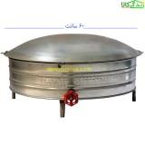 ساج گازی نان خانگی