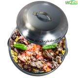 ساج تابه صحرایی پخت غذا سایز کوچک مدل xoshab 2