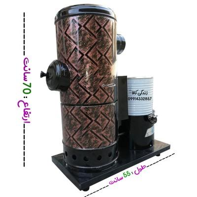 بخاری نفتی- گازوئیلی رنگی سایز 70