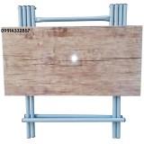 میز تاشو چوبی مسافرتی بزرگ