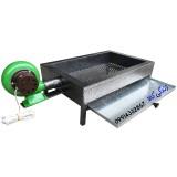 منقل زغالی فن دار برقی مدل سفارشی 50
