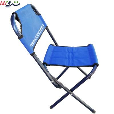 صندلی مسافرتی تاشو مدل پشت دار